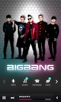 Screenshot of BIGBANG App