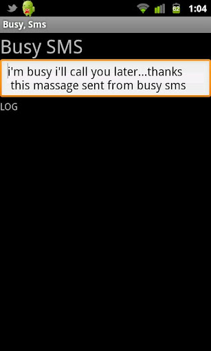 Busy Sms Beta