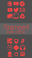 Screenshot of Stamped Holo Red
