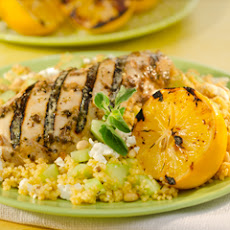 Grilled Chicken With Cous Cous Salad