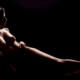 Art of Relaxation by Neil Tailor-Photography - Nudes & Boudoir Artistic Nude ( nude, lighting, low key, art, shadows )