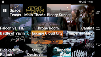 Screenshot of X-Wing Soundboard