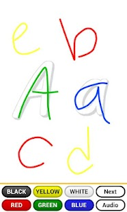 Learning ABC with fun (☺) - screenshot