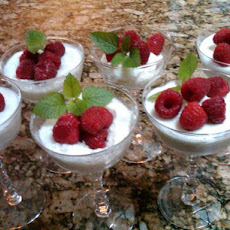 Lemon Yogurt Mousse (Non Fat)