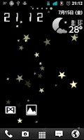 Screenshot of Star wall Live Wallpaper