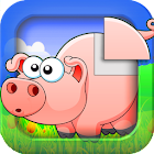 Animal sounds puzzle HD icon