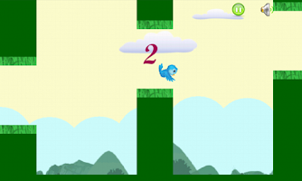 Screenshot of Noisy Bird Flap