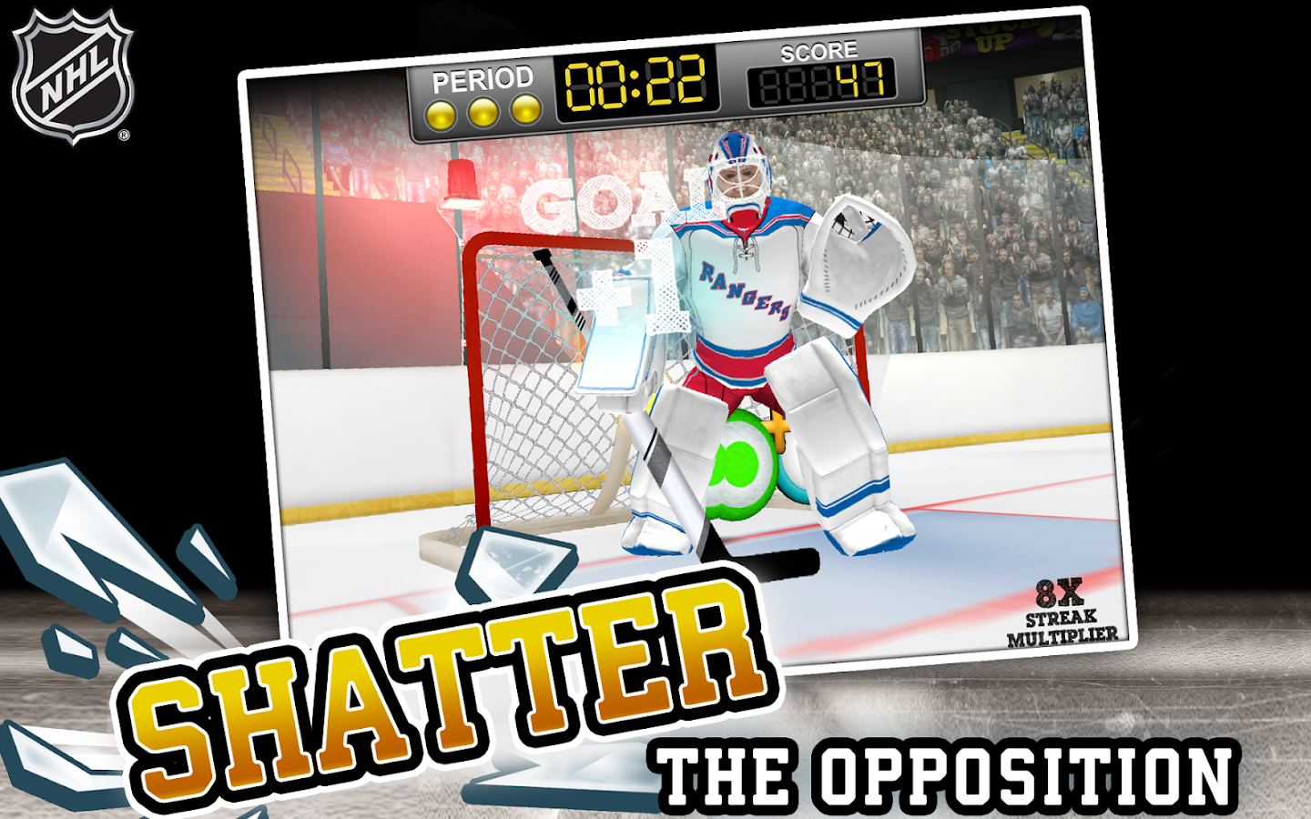 NHL Hockey Target Smash Screenshot 7