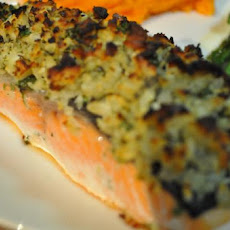 Baked Herb and Macadamia Crusted Fish
