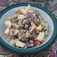 Auntie M's Apple & Grape Salad