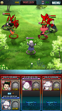 hunter × hunter Battle Allstars apk screenshot