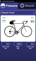 Screenshot of Bicycle Tire Pressure Demo