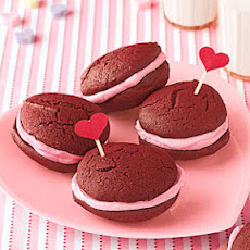 Mini Red Velvet Whoopie Pies