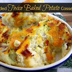 Loaded Twice Baked Potato Casserole