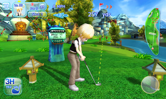 Screenshot of Let's Golf! 3