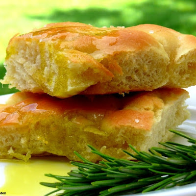 Easy, Homemade Focaccia Bread