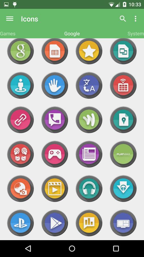 Meld HD Icon Pack Screenshot 5
