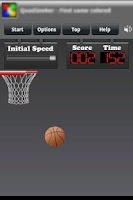 Screenshot of Finger BasketBall