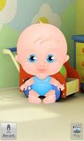 Screenshot of Talking Baby Boy