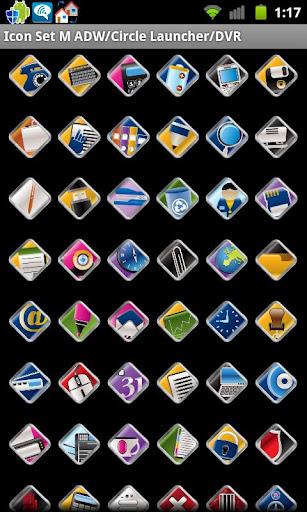 Icon Set M ADW Circle Laun DVR