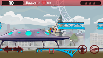 Screenshot of Killer Bean vs Aliens Shooter