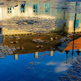 Puddle by Mihai Popa - City,  Street & Park  Vistas ( romania, sibiu )