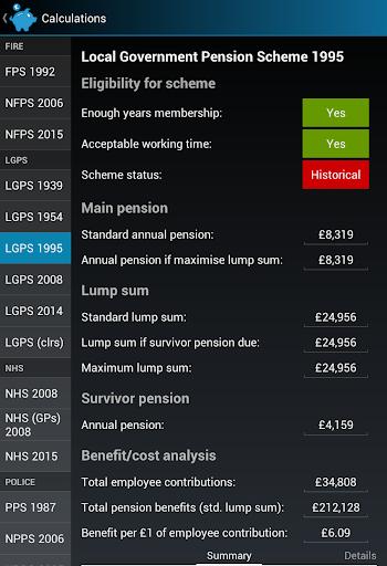 Rbc retirement calculator lgps kit