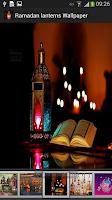 Screenshot of Ramadan lanterns Wallpaper