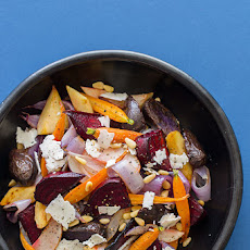 Roasted Winter Root Vegetable Salad