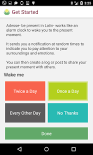 Mindfulness with Adesse - screenshot