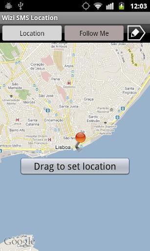 SMS Location 短信位置