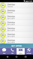 Screenshot of ZeroApp