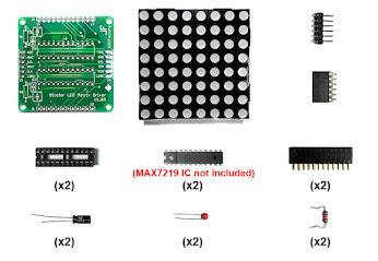 60mm x 60mm Bi-color LED Matrix Module