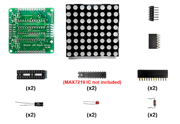 60mm x 60mm Bi-color LED Matrix Module