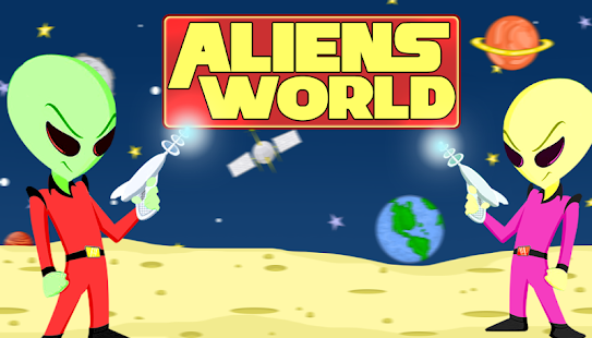 Aliens World - screenshot