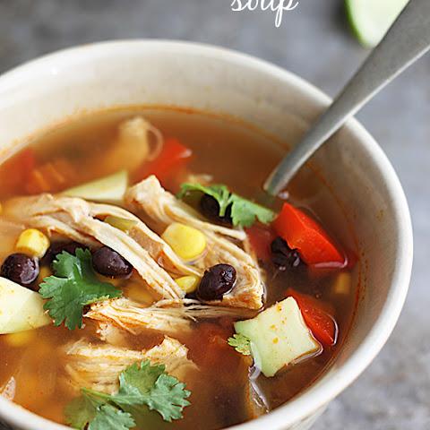 Baja Chicken Soup Baja Chicken Soup