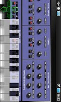 Screenshot of OBx Synthesizer