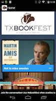 Screenshot of Texas Book Festival 2014