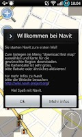 Screenshot of Navit for Android