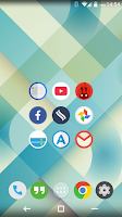 Screenshot of FlatDroid - Icon Pack