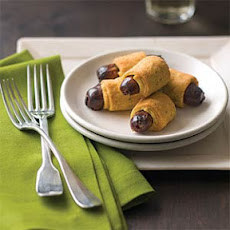 Baked Dates in Cheddar-Rosemary Pastry