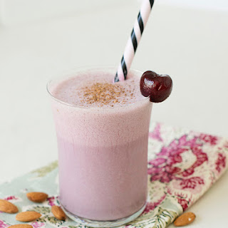 Cherry Almond Smoothies