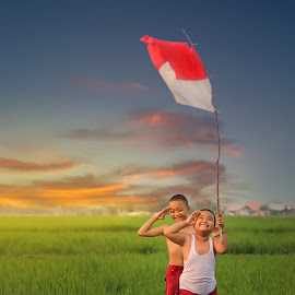 Indonesian independence day by Muhamad Anshorullah - Babies & Children Child Portraits