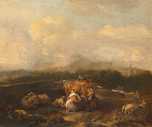 RIJKS: Nicolaes van Helt Stockade: painting 1669