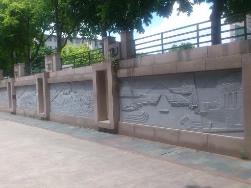 建筑发展壁画