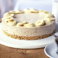 Frozen Banana & Peanut Butter Cheesecake