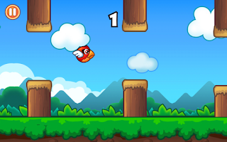 Screenshot of Floppy Bird - Flap Again