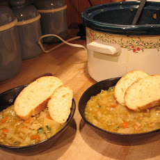 French White Bean and Cabbage Soup
