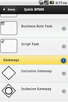 Screenshot of Quick BPMN 2.0
