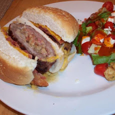 Bacon Stuffed Burgers